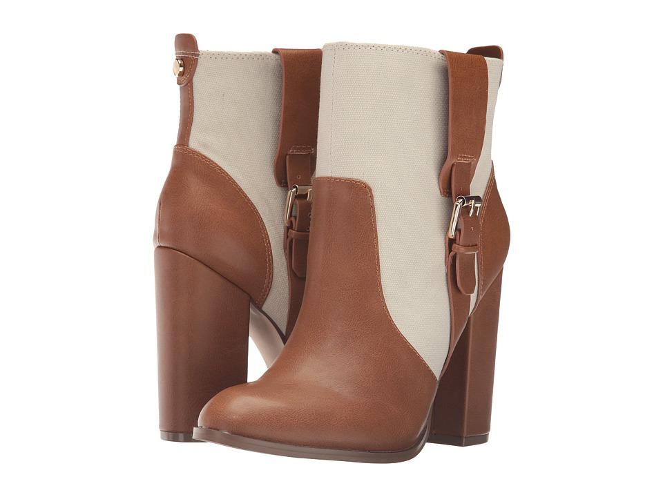 Athena Alexander - Layla (Beige Linen) Women's Boots
