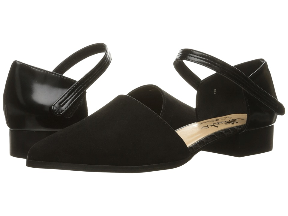 Callisto of California - Hadlee (Black Suede) Women's Flat Shoes