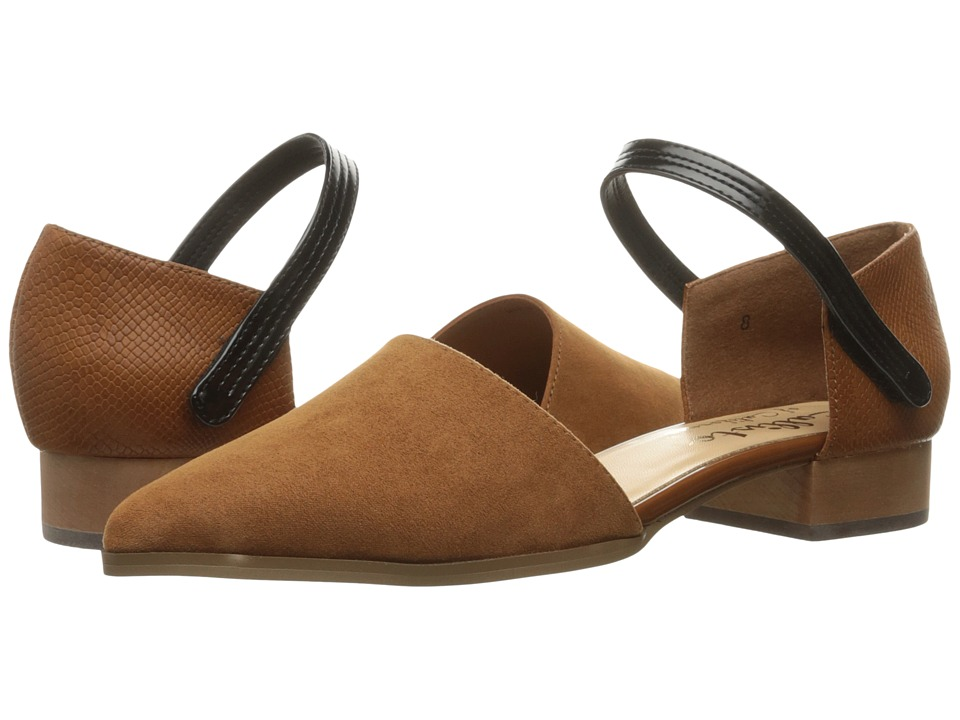 Callisto of California - Hadlee (Brown Suede) Women's Flat Shoes