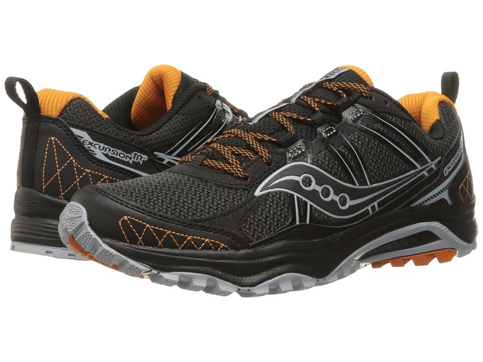 Saucony - Excursion TR10 (Grey/Black/Orange) Men's Running Shoes
