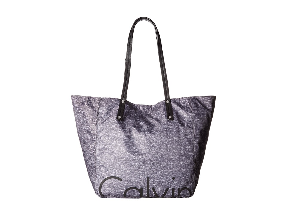 Calvin Klein - Athleisure Tote (Heather Gray/Black) Tote Handbags