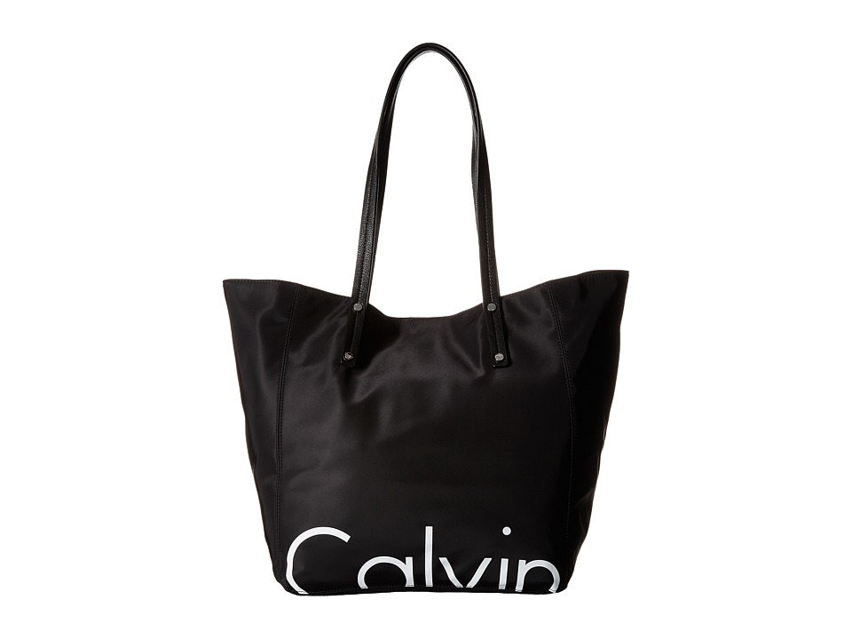 Calvin Klein - Athleisure Tote (Black/White) Tote Handbags