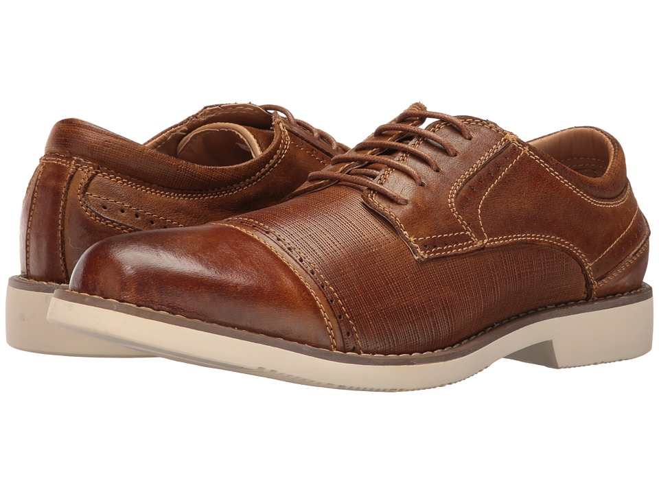Steve Madden - Transmit (Dark Tan) Men's Lace up casual Shoes