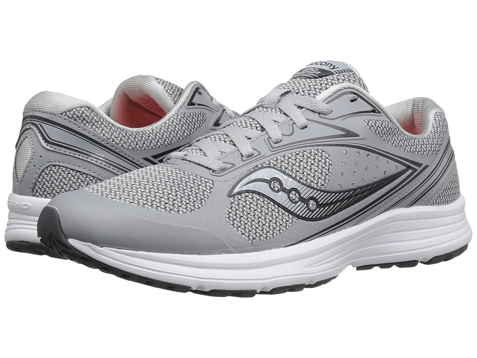 Saucony - Seeker (Grey/White) Men's Running Shoes