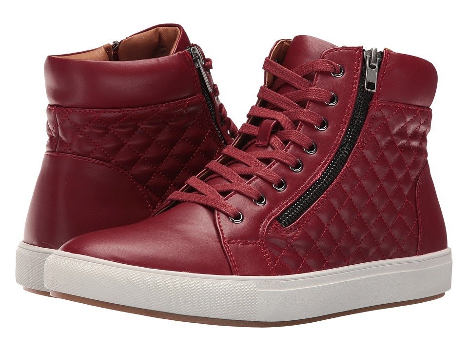 Steve Madden - Quodis (Red) Men's Lace up casual Shoes