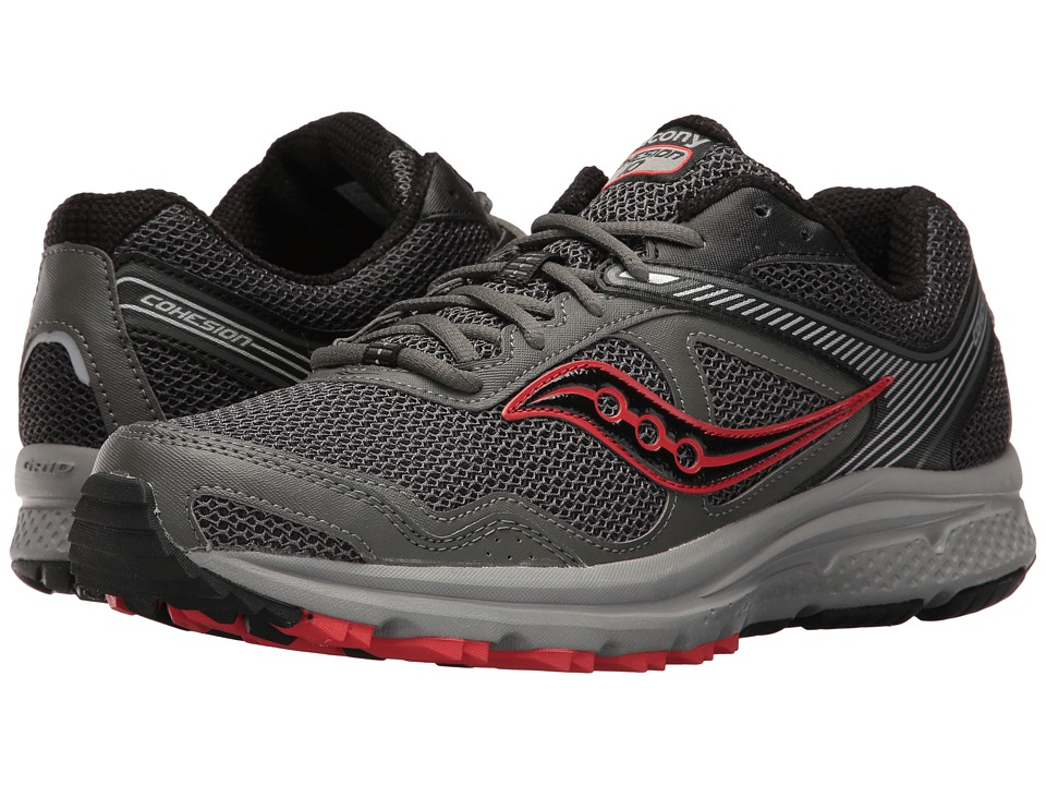 Saucony - Cohesion TR10 (Grey/Black) Men's Shoes