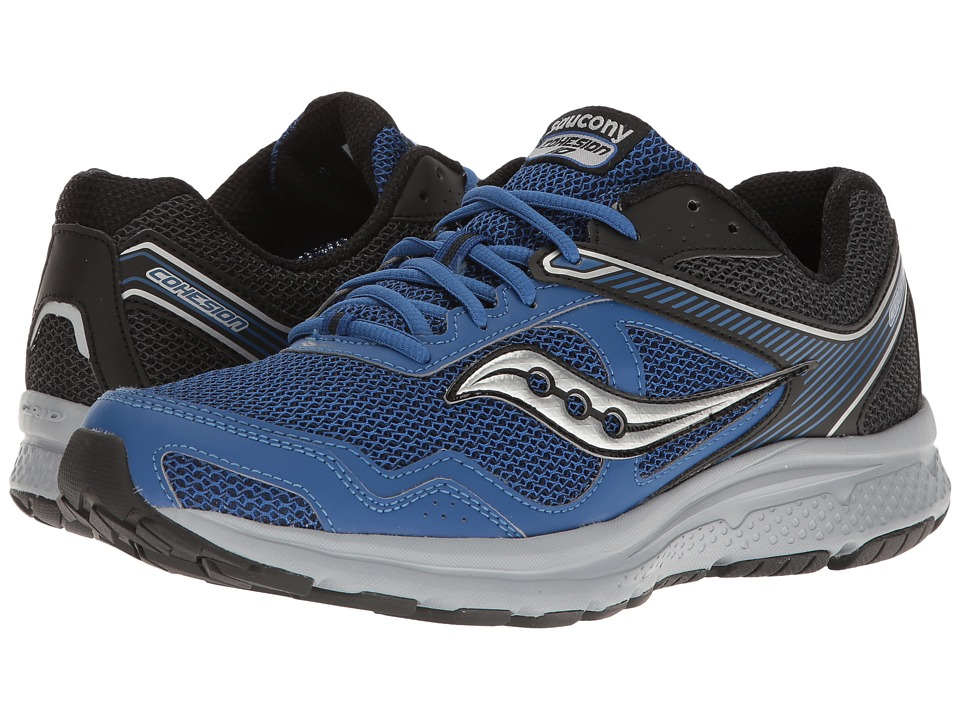 Saucony - Cohesion 10 (Royal/Black) Men's Shoes