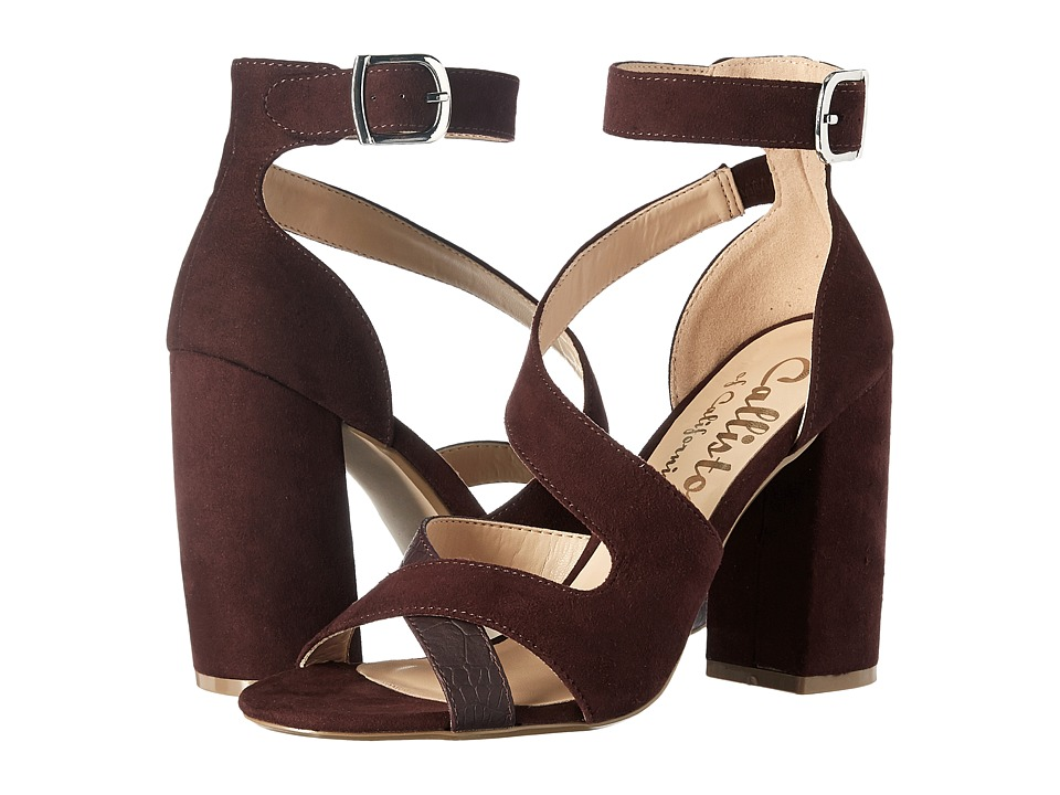 Callisto of California Dinah (Burgundy Suede) Women