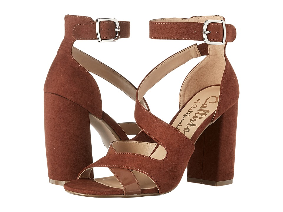 Callisto of California - Dinah (Tan Suede) Women's Shoes