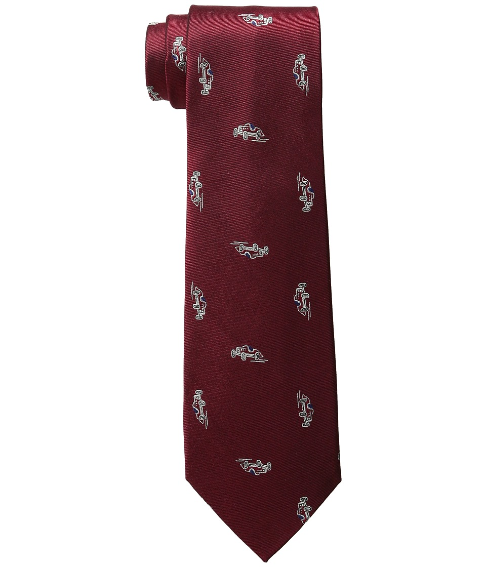 LAUREN Ralph Lauren - Car Club Tie (Red) Ties