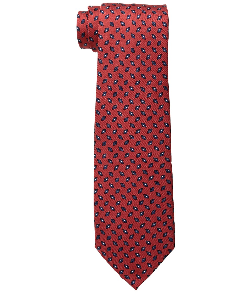 LAUREN Ralph Lauren - Diamond Neat Tie (Red) Ties