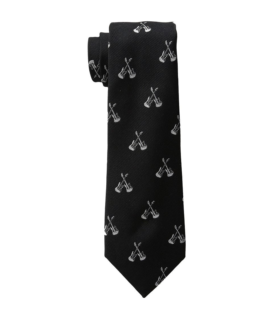 LAUREN Ralph Lauren - Guitar Club Tie (Black) Ties