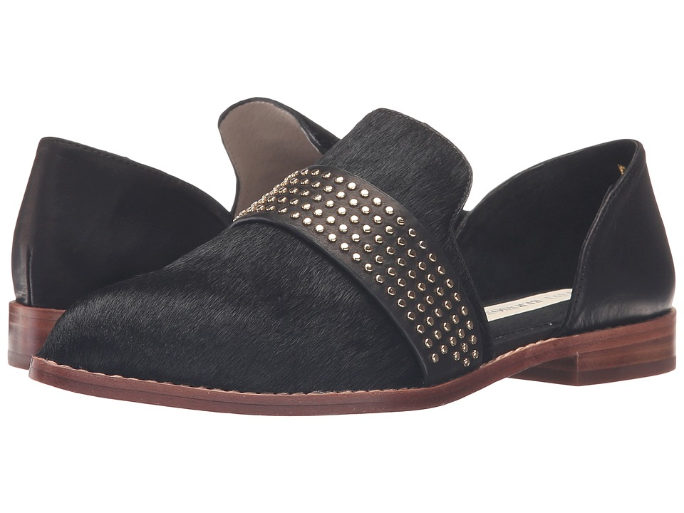 Matt Bernson - Sterling Stud (Black Pony) Women's Slip on Shoes