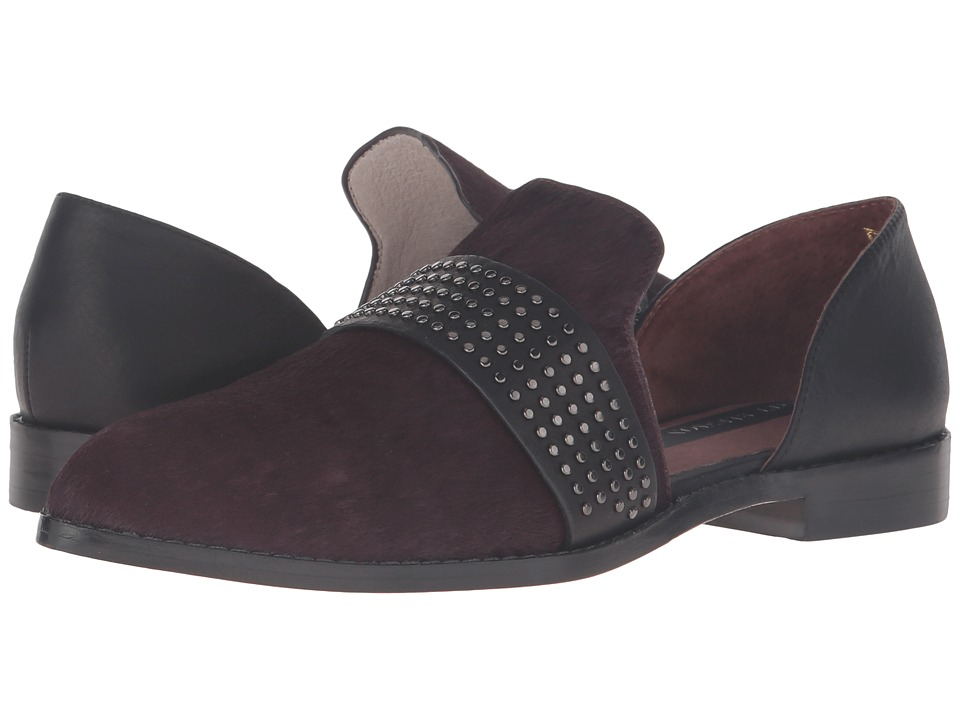 Matt Bernson - Sterling Stud (Syrah Pony Hair) Women's Slip on Shoes