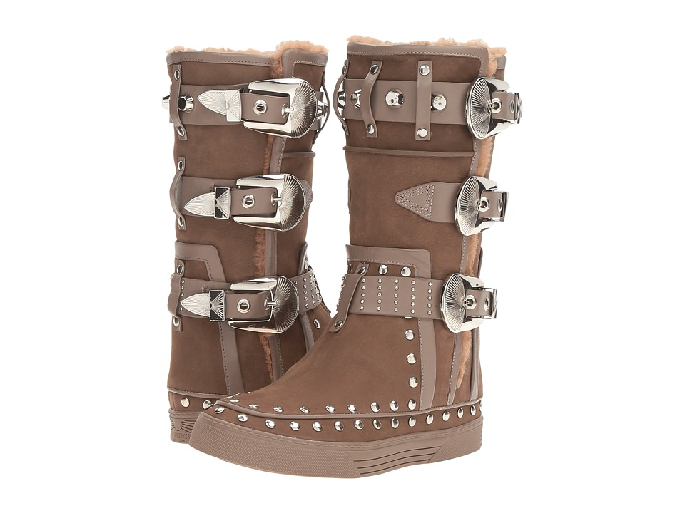 IVY KIRZHNER - Alpaca (Truffle) Women's Shoes