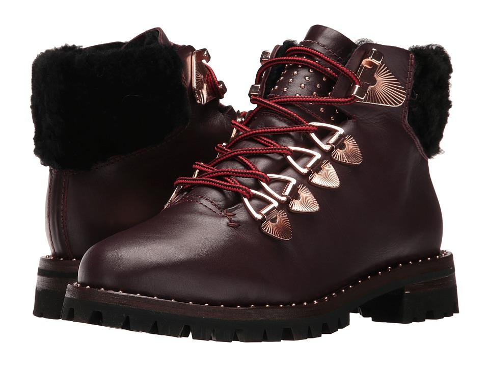 IVY KIRZHNER - Hudson (Maroon) Women's Shoes