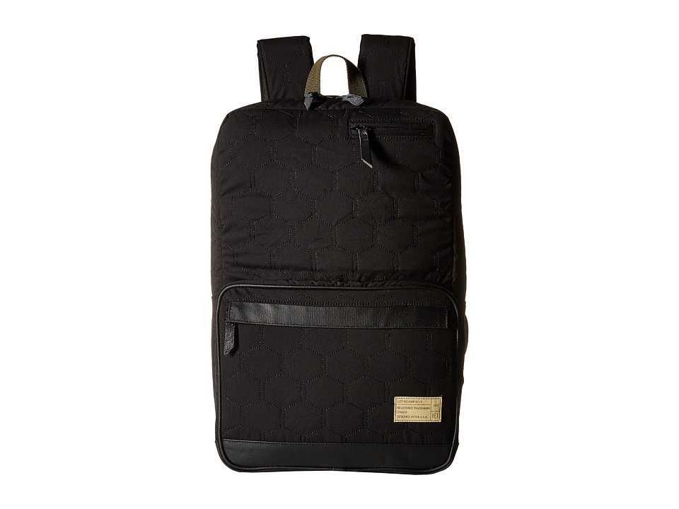 HEX - Origin Backpack (Empire Black/Quilt) Backpack Bags