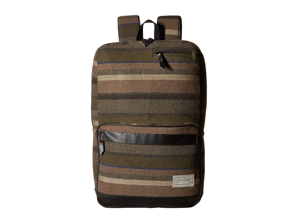 HEX - Origin Backpack (Dakota Grey/Stripe) Backpack Bags
