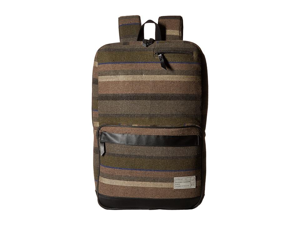 HEX - Origin Backpack (Dakota Grey/Stripe) Backpack Bags