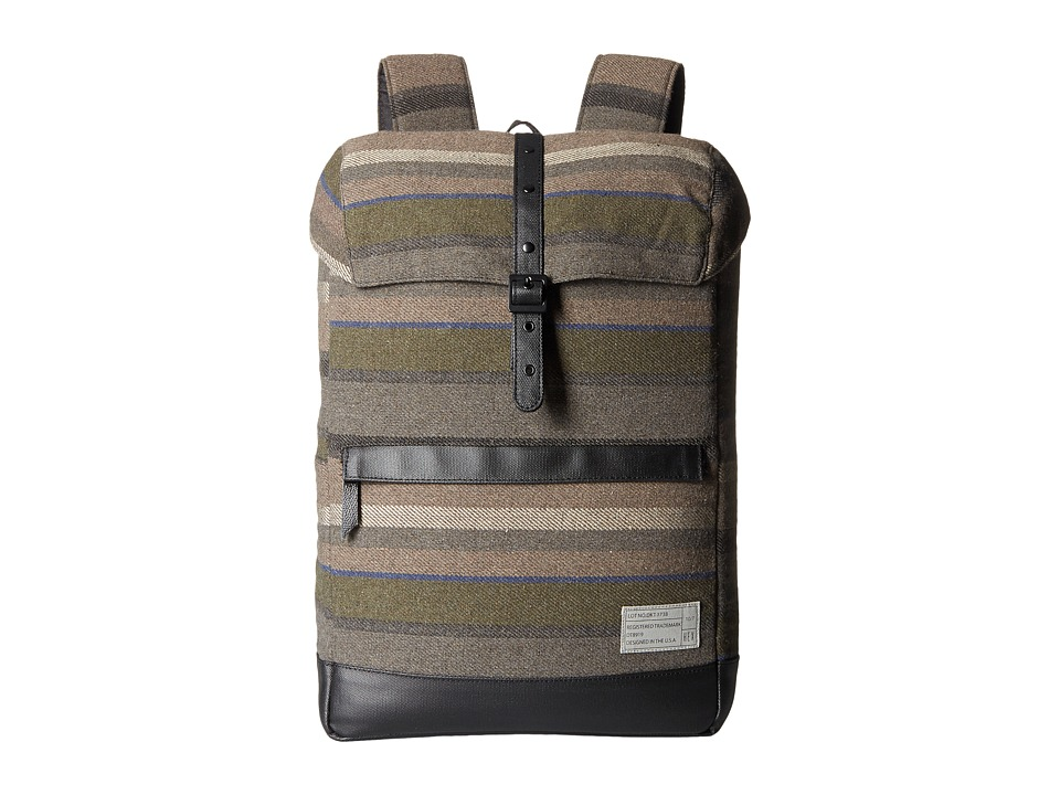 HEX - Alliance Backpack (Dakota Grey/Stripe) Backpack Bags