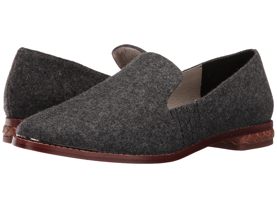 Matt Bernson - Ellington (Charcoal Wool) Women's Slip on Shoes
