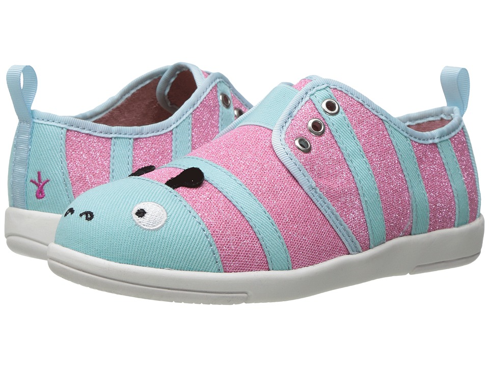 EMU Australia Kids - Caterpillar Sneaker (Toddler/Little Kid/Big Kid) (Sea Green) Girl's Shoes
