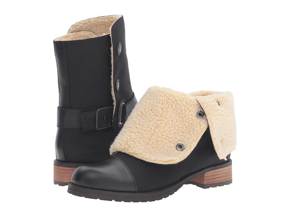 Matt Bernson - Tundra (Black/White Shearling) Women's Boots