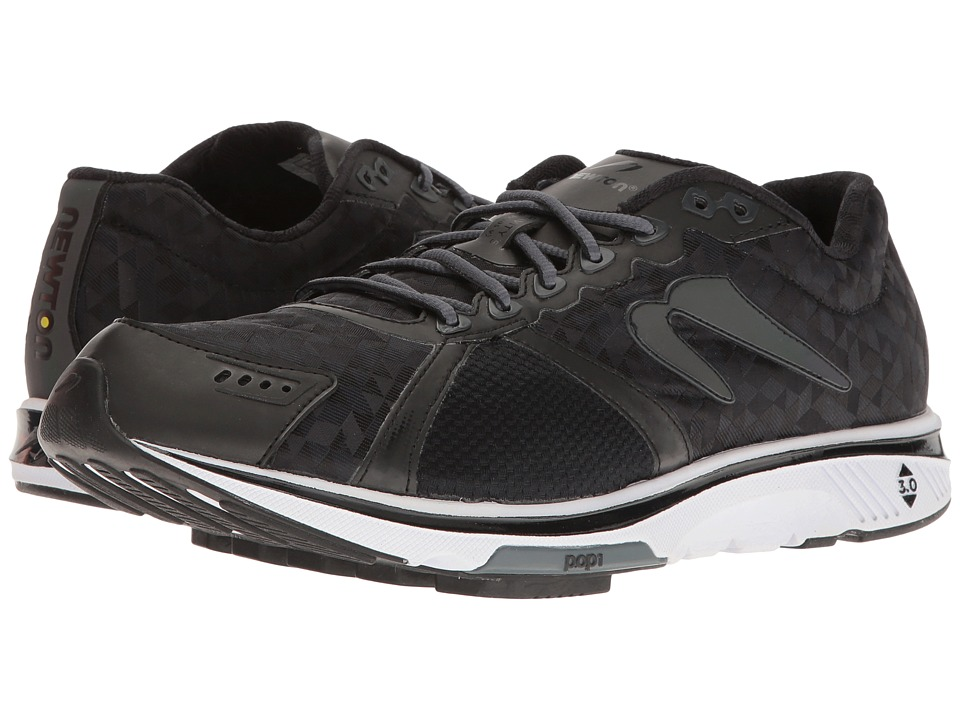 Newton Running - All Weather Gravity VI (Black/Black) Men's Shoes