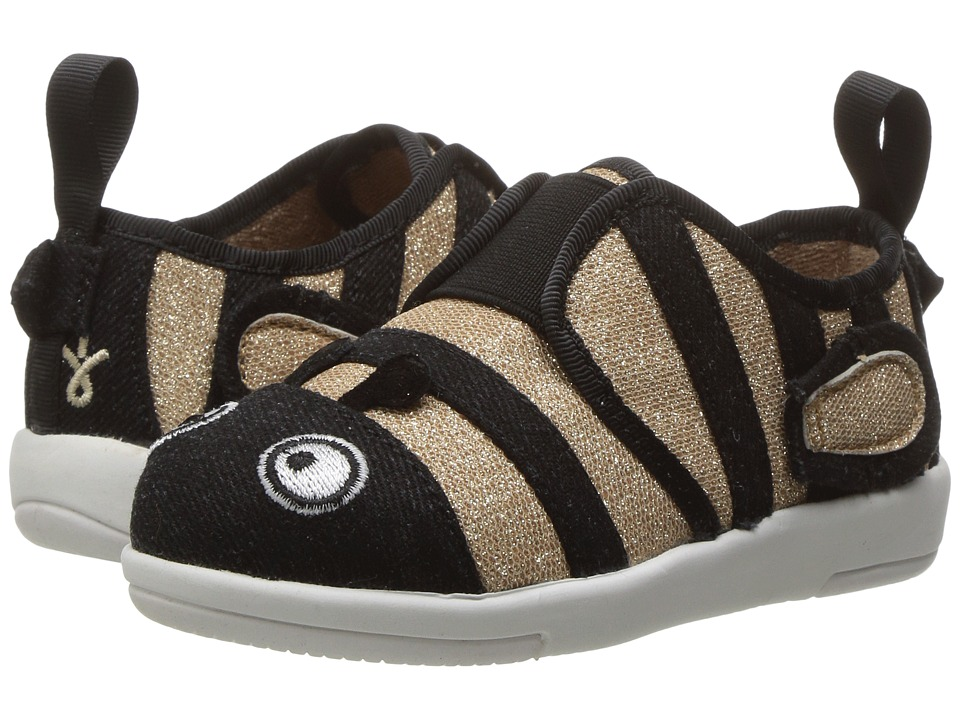 EMU Australia Kids - Bumble Bee Sneaker (Toddler/Little Kid/Big Kid) (Gold) Girl's Shoes