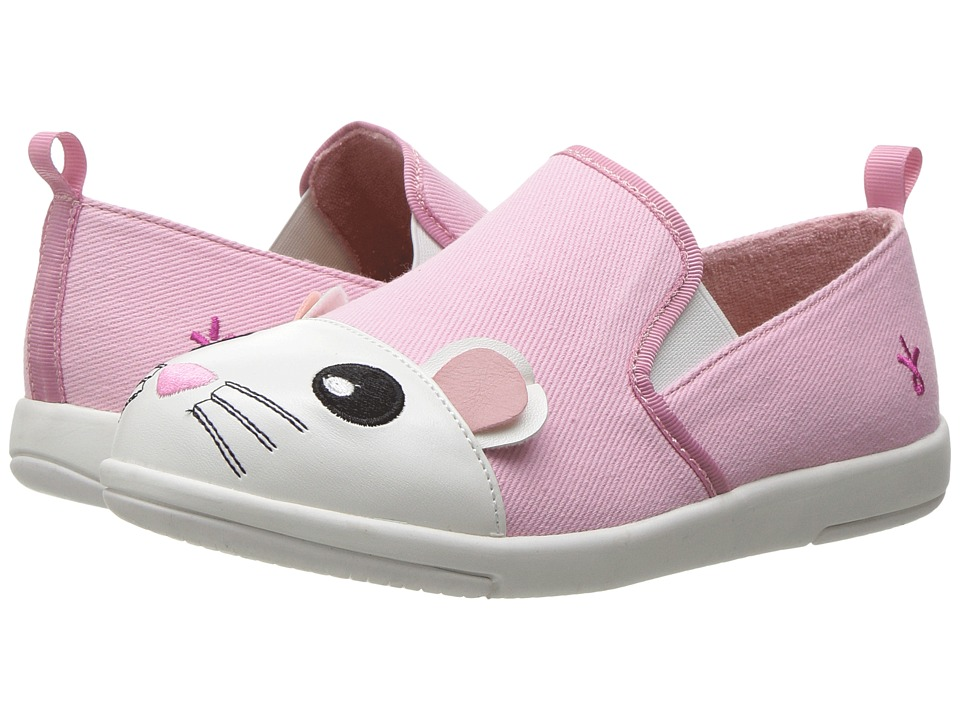 EMU Australia Kids - Mouse Sneaker (Toddler/Little Kid/Big Kid) (Pink) Girl's Shoes