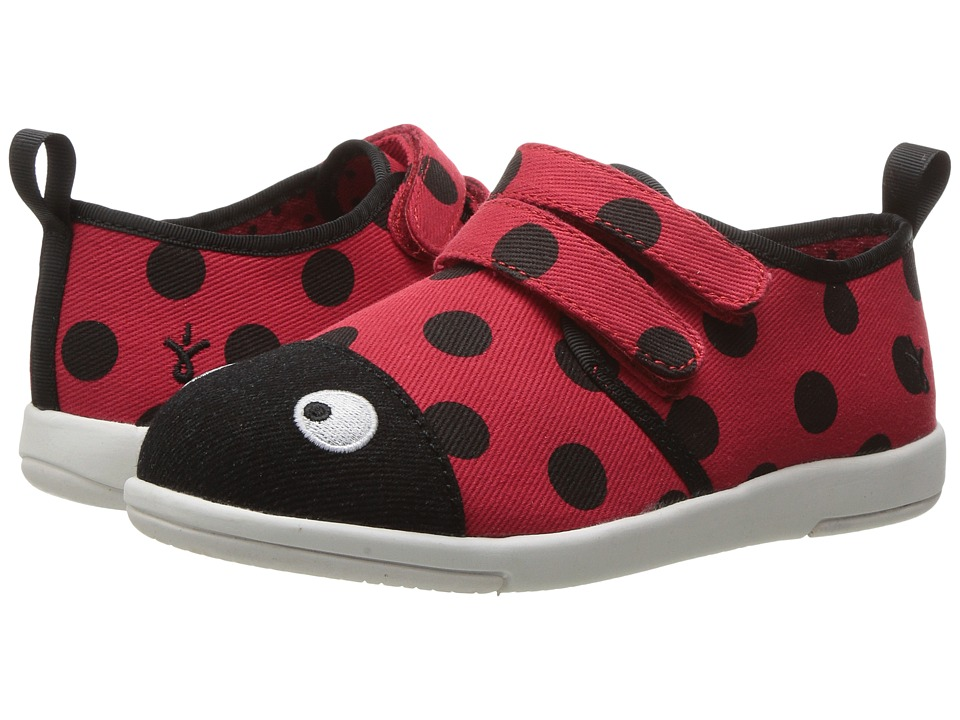 EMU Australia Kids - Ladybird Sneaker (Toddler/Little Kid/Big Kid) (Red) Girl's Shoes