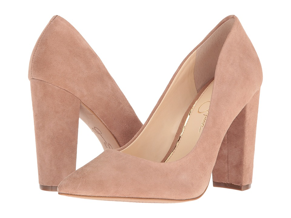 Jessica Simpson - Tanysha (Mauve Luxe Kid Suede) Women's Shoes