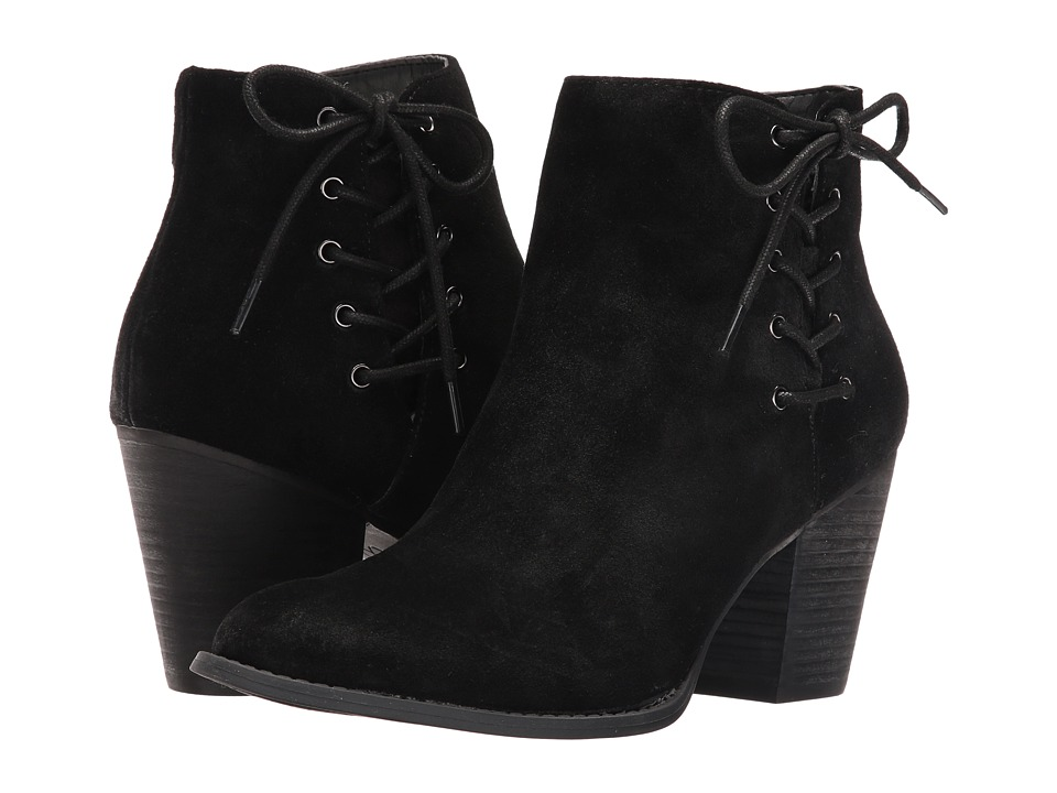 Jessica Simpson - Yesha (Black Split Suede) Women's Shoes
