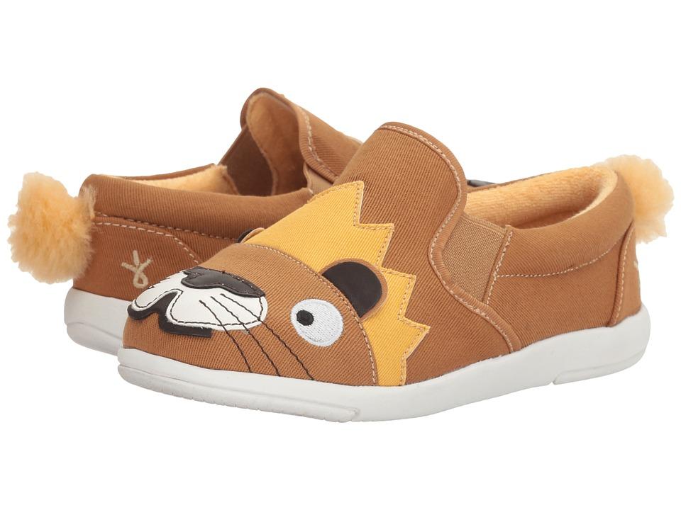 EMU Australia Kids - Lion Sneaker (Toddler/Little Kid/Big Kid) (Chestnut) Kid's Shoes