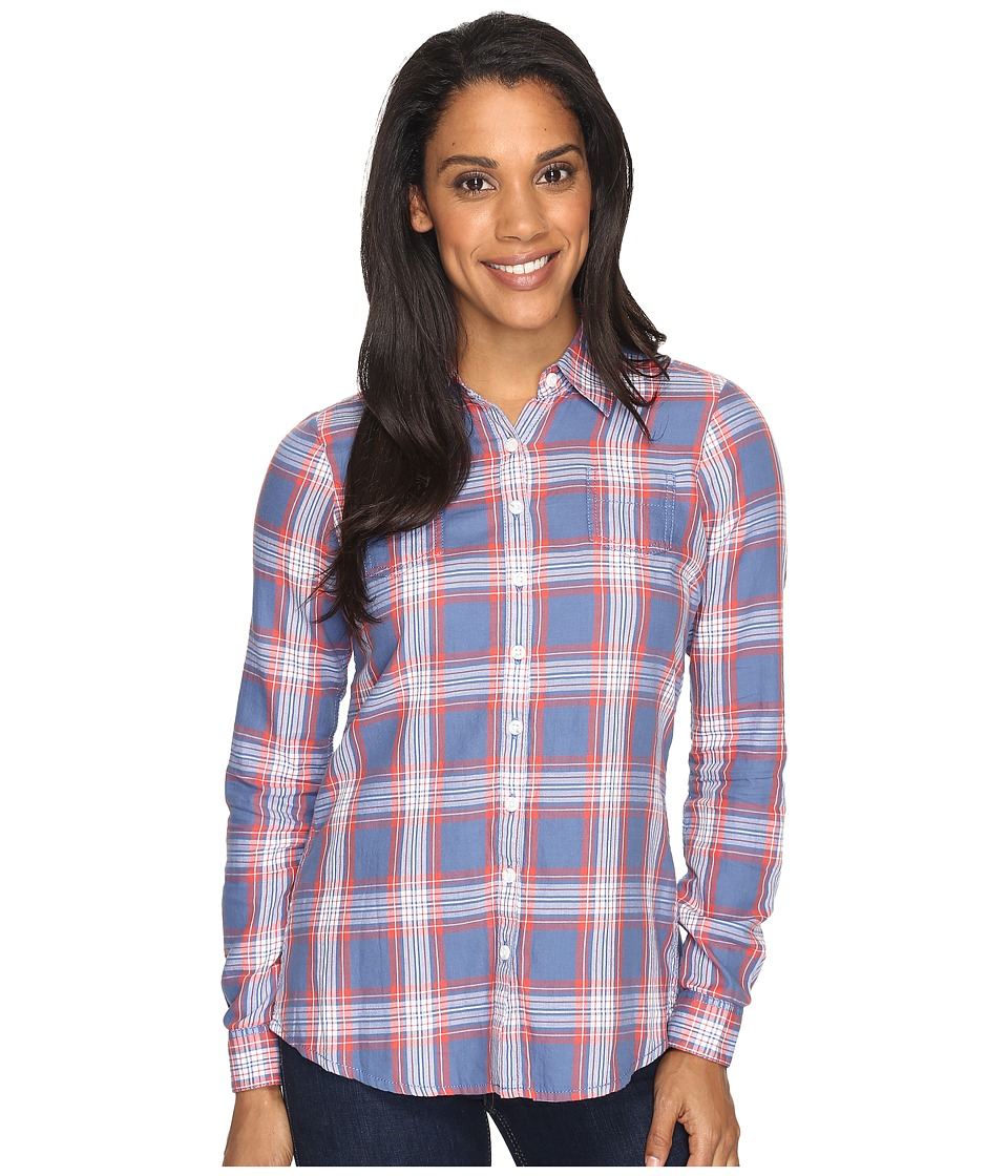 Aventura Clothing - Sheridan Long Sleeve (Dutch Blue) Women's Long Sleeve Button Up