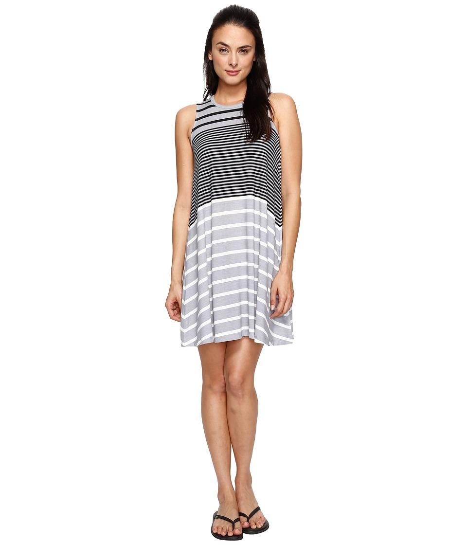 Aventura Clothing - Carrick Dress (Heather Grey Stripe) Women's Dress