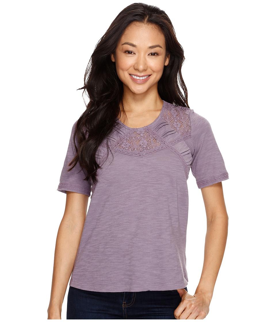 Aventura Clothing - Tierney Elbow Sleeve (Purple Sage) Women's Clothing