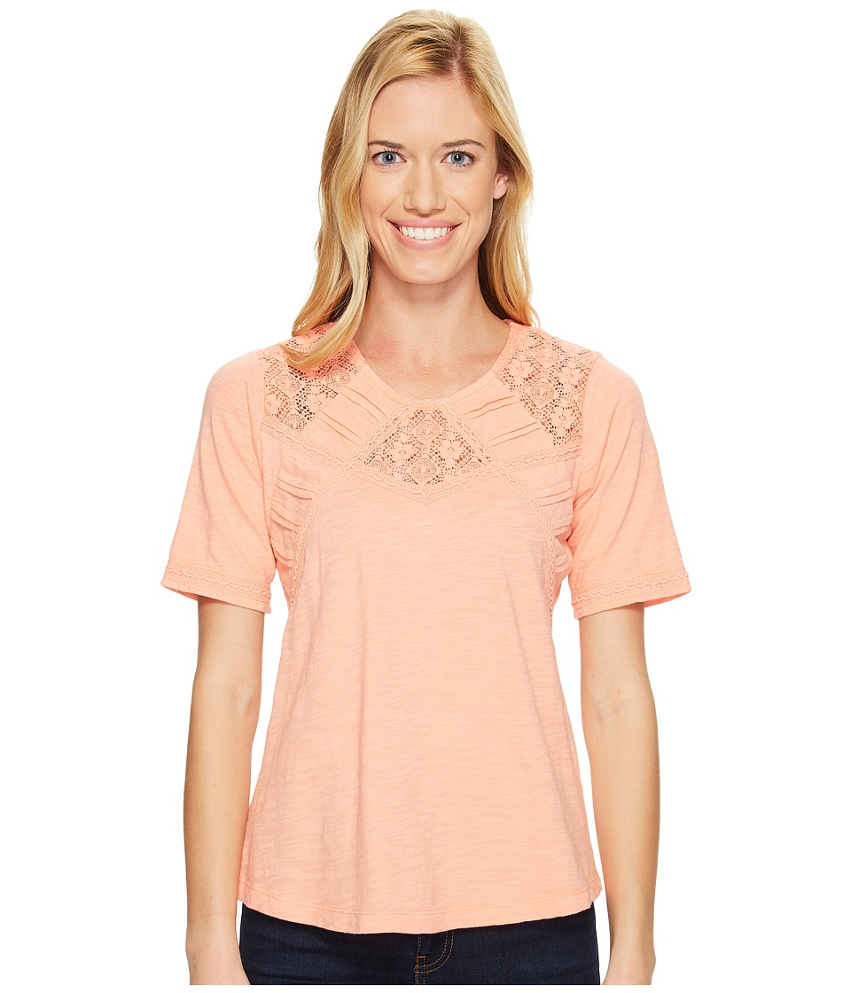 Aventura Clothing - Tierney Elbow Sleeve (Blooming Dahlia) Women's Clothing