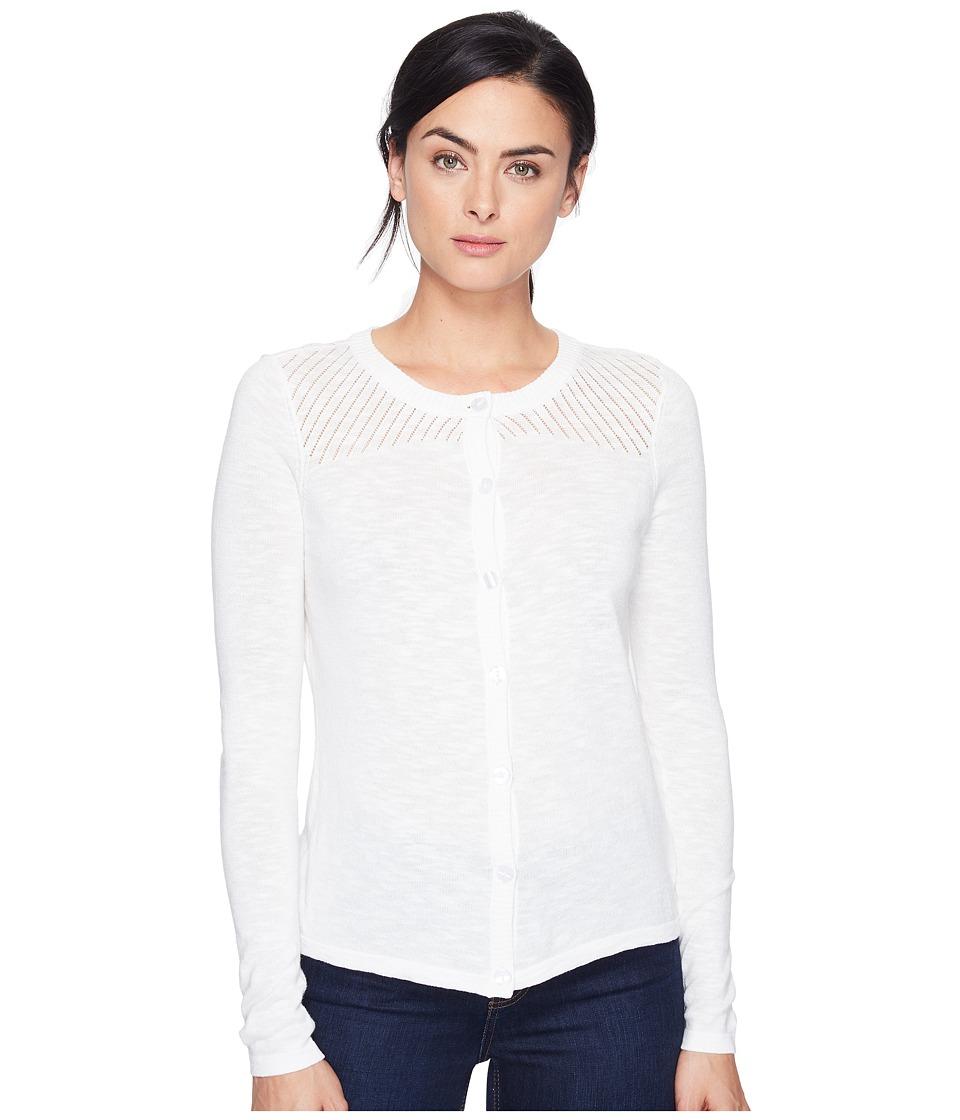 Aventura Clothing - Alston Cardigan (White) Women's Sweater