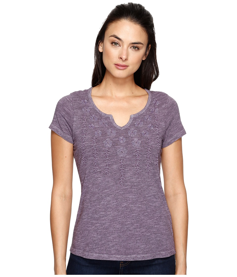 Aventura Clothing - Maisie Short Sleeve (Purple Sage) Women's Clothing