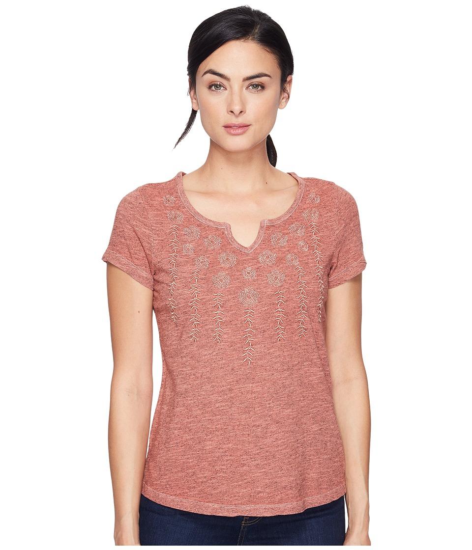 Aventura Clothing - Maisie Short Sleeve (Blooming Dahlia) Women's Clothing