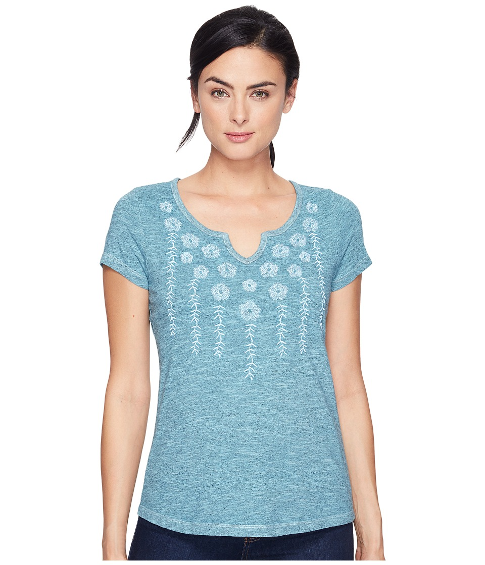 Aventura Clothing - Maisie Short Sleeve (Aqua Haze) Women's Clothing