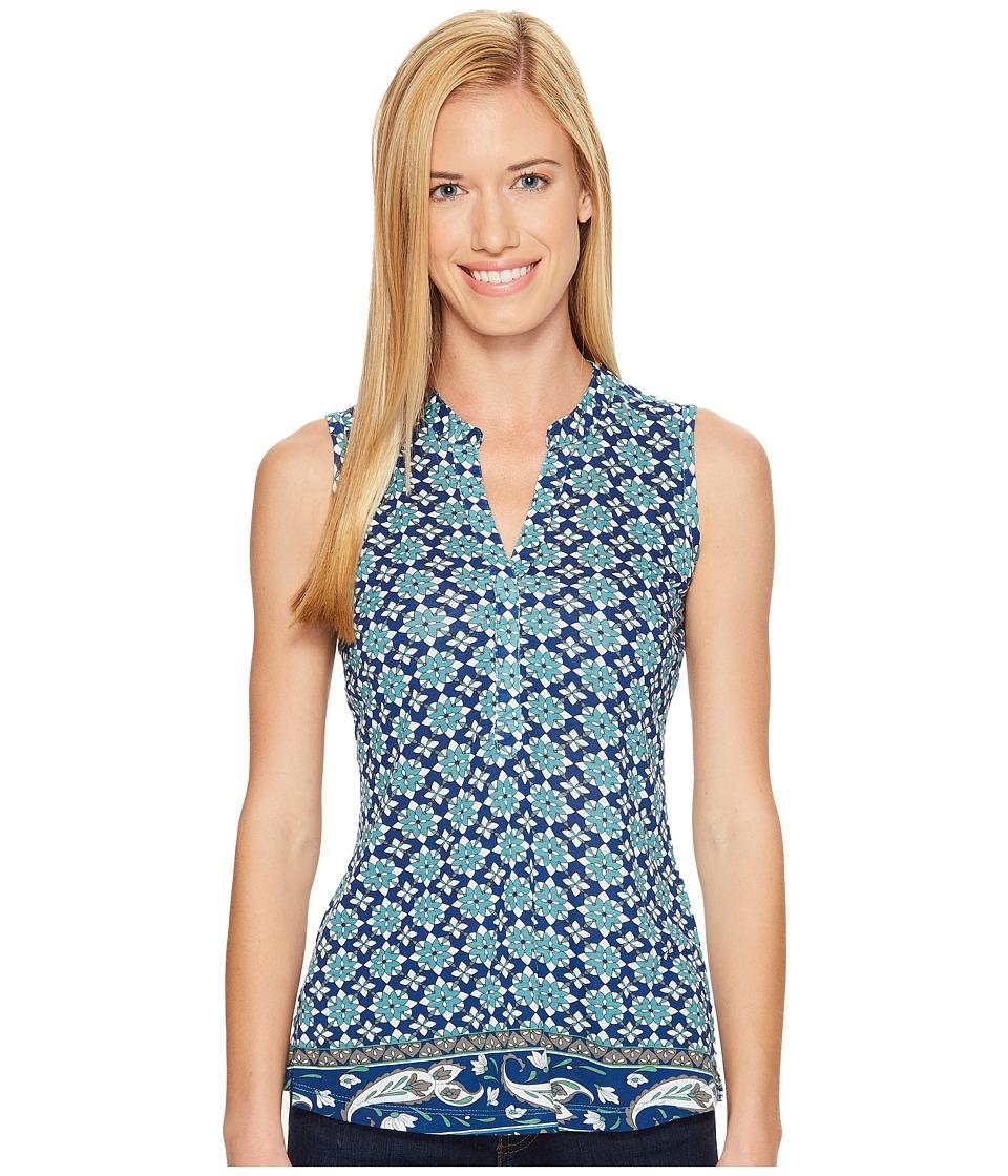 Aventura Clothing - Lark Tank Top (Dutch Blue) Women's Sleeveless