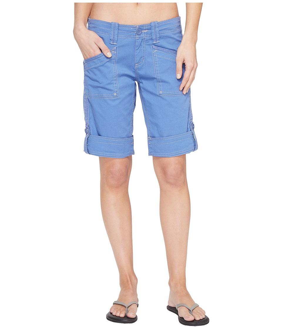Aventura Clothing - Arden Standard Rise Short (Dutch Blue) Women's Shorts