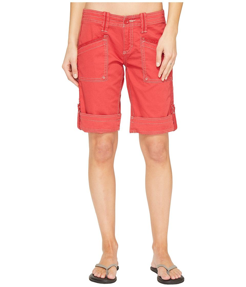 Aventura Clothing - Arden Standard Rise Short (Cardinal) Women's Shorts