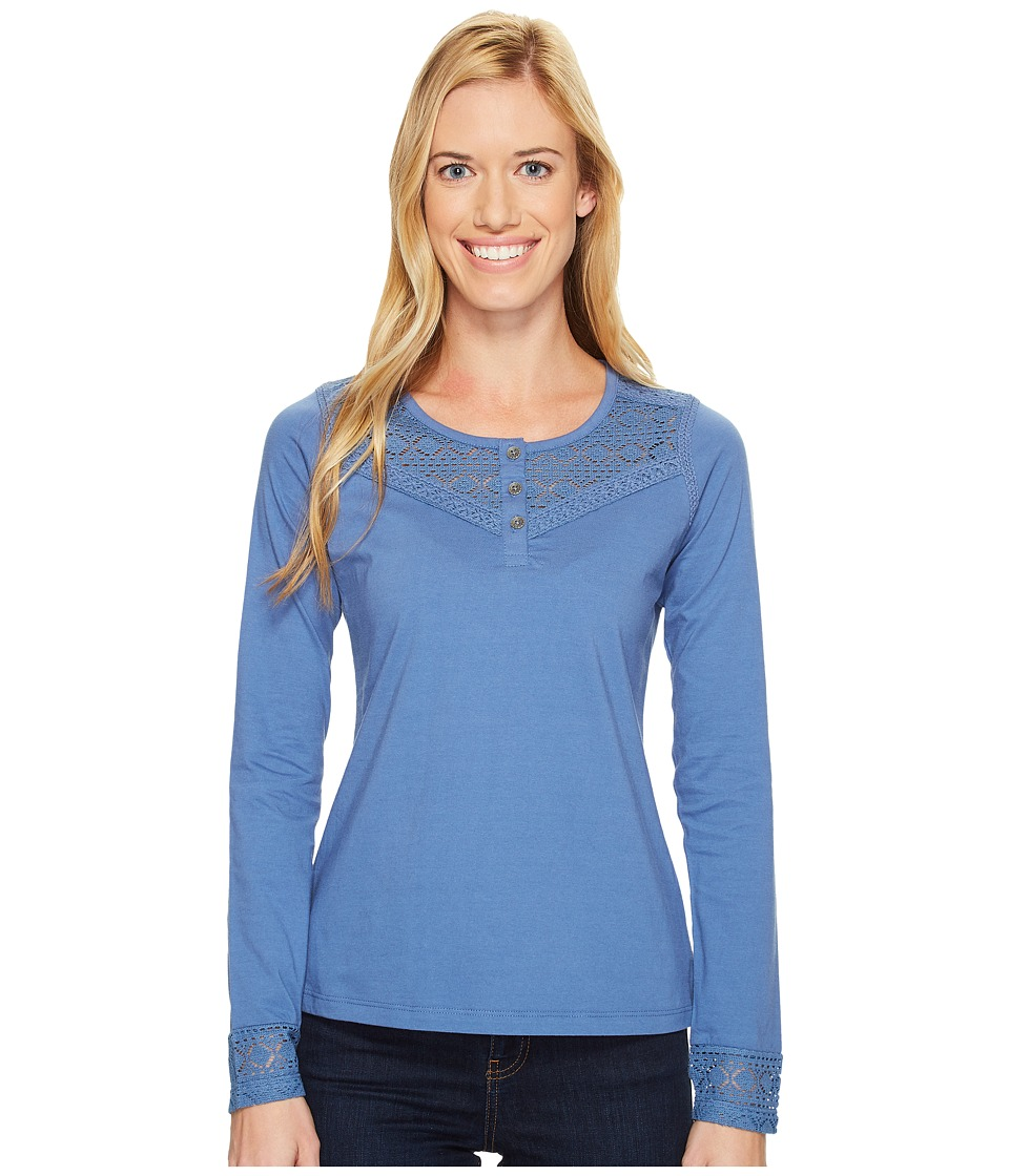 Aventura Clothing - Tally Long Sleeve (Dutch Blue) Women's Clothing