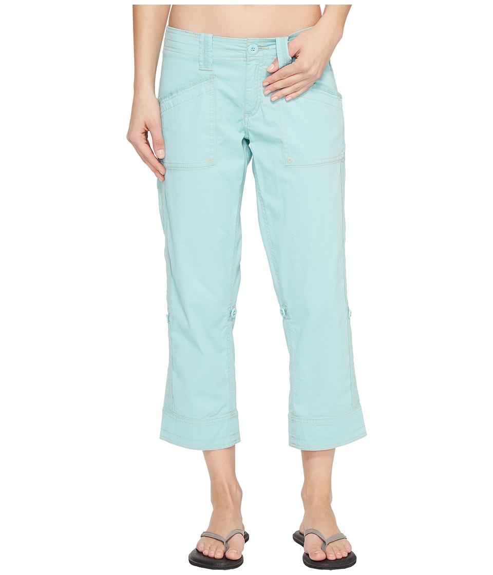 Aventura Clothing - Arden Standard Rise Capri (Aqua Haze) Women's Capri
