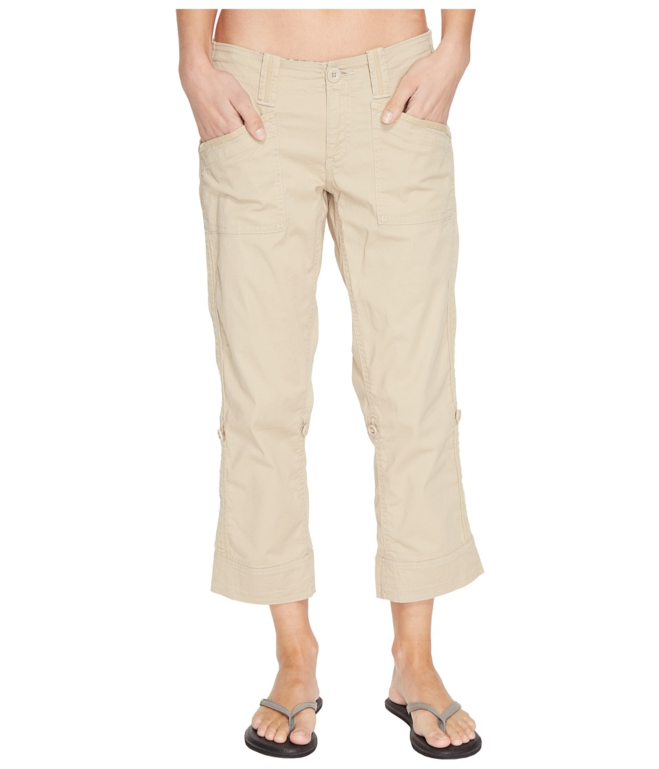 Aventura Clothing - Arden Standard Rise Capri (White Pepper) Women's Capri