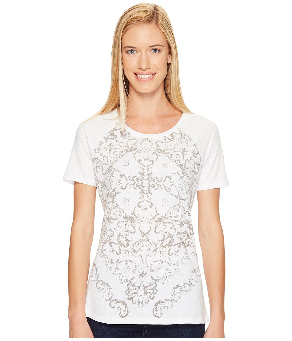 Aventura Clothing - Luca Short Sleeve (White) Women's Clothing