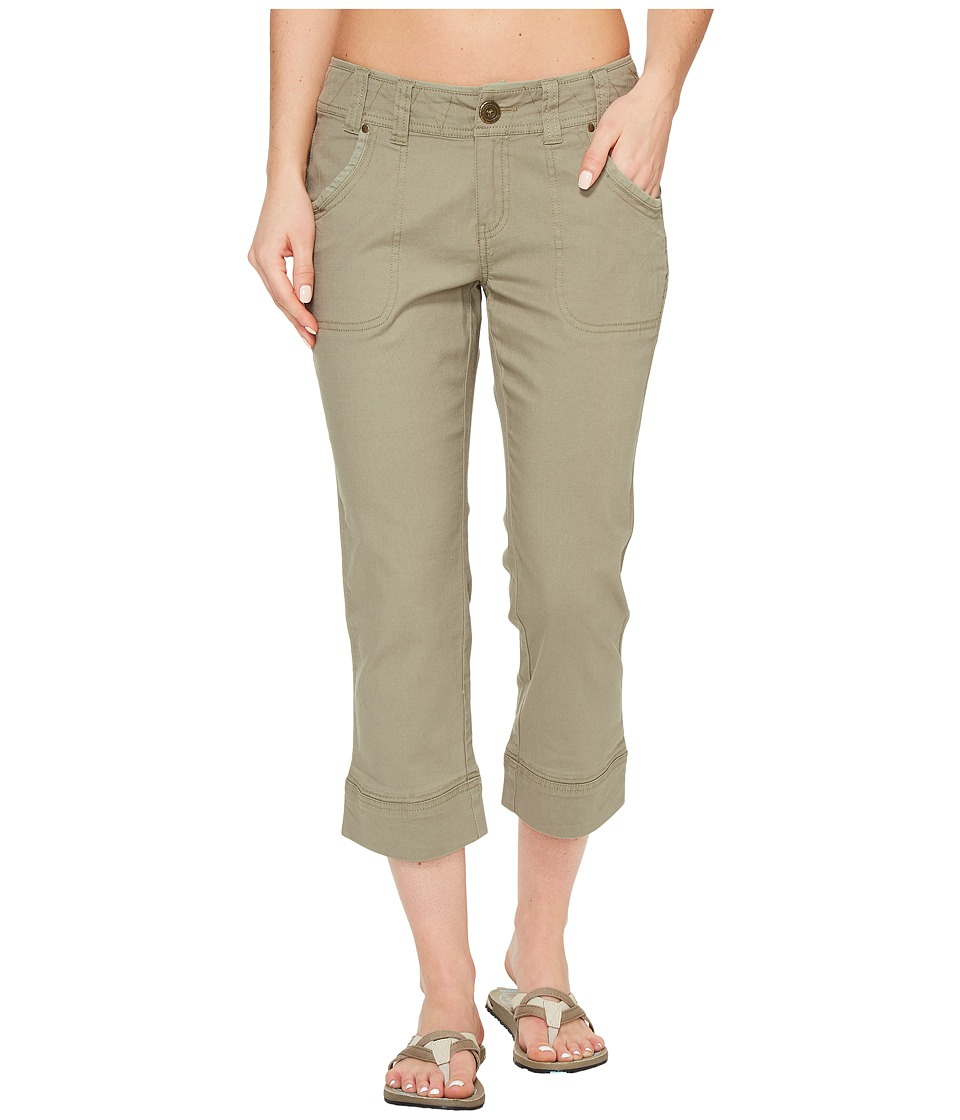 Aventura Clothing Scout Capris (Gravel) Women